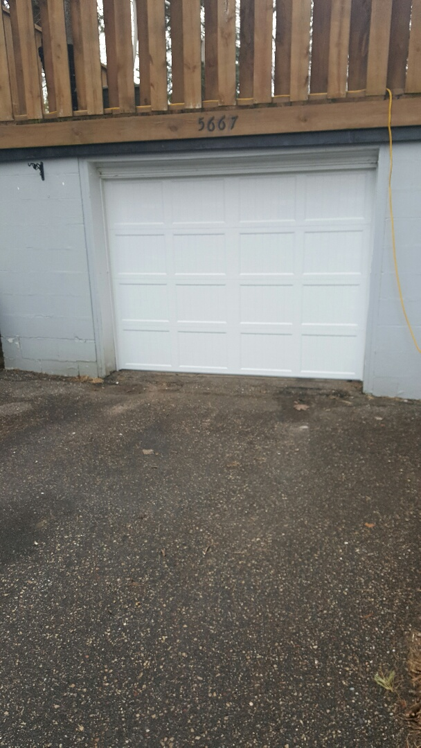 Minnetonka, MN - Rory installed a garage door in Minnetonka, MN.