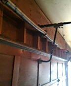 Burnsville, MN - Garage door service replace torsion springs and end bearings