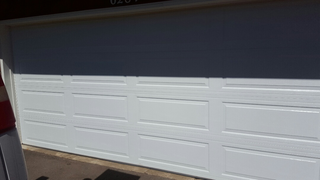 Maple Grove, MN - Jeremy installed 16 by 7 garage door and opener