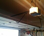 Rosemount, MN - Garage door service replace garage door opener with customer purchased chamberlain