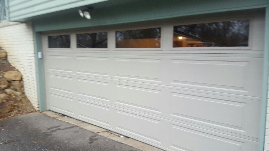 Arden Hills, MN - Jeremy installed garage door