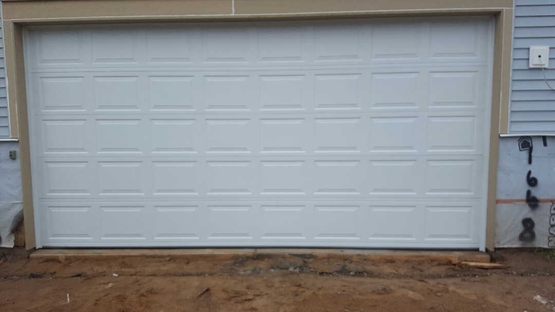 Saint Paul, MN - Jeremy installed 16 by 8 garage door