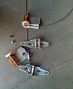 Richfield, MN - Garage door service replace cables bottom fixtures and hinges