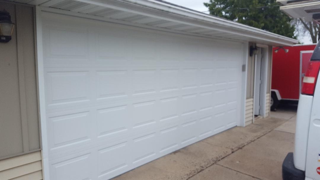 Cottage Grove, MN - Jeremy installed new garage door and opener