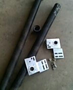 Garage door service replace torsion springs and end bearings and some hardware.