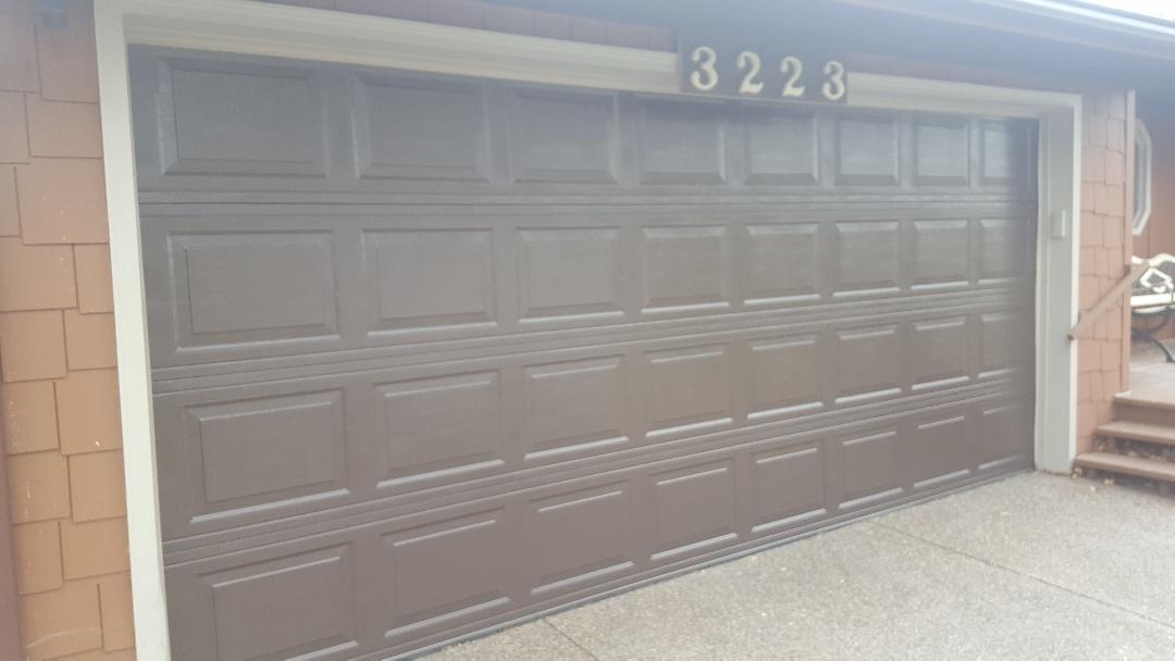 Shoreview, MN - Jeremy installed new garage door and opener