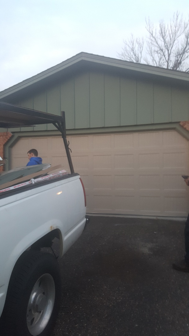 Rory installed a garage door in Lakeville, MN
