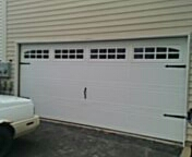 Replace old garage door