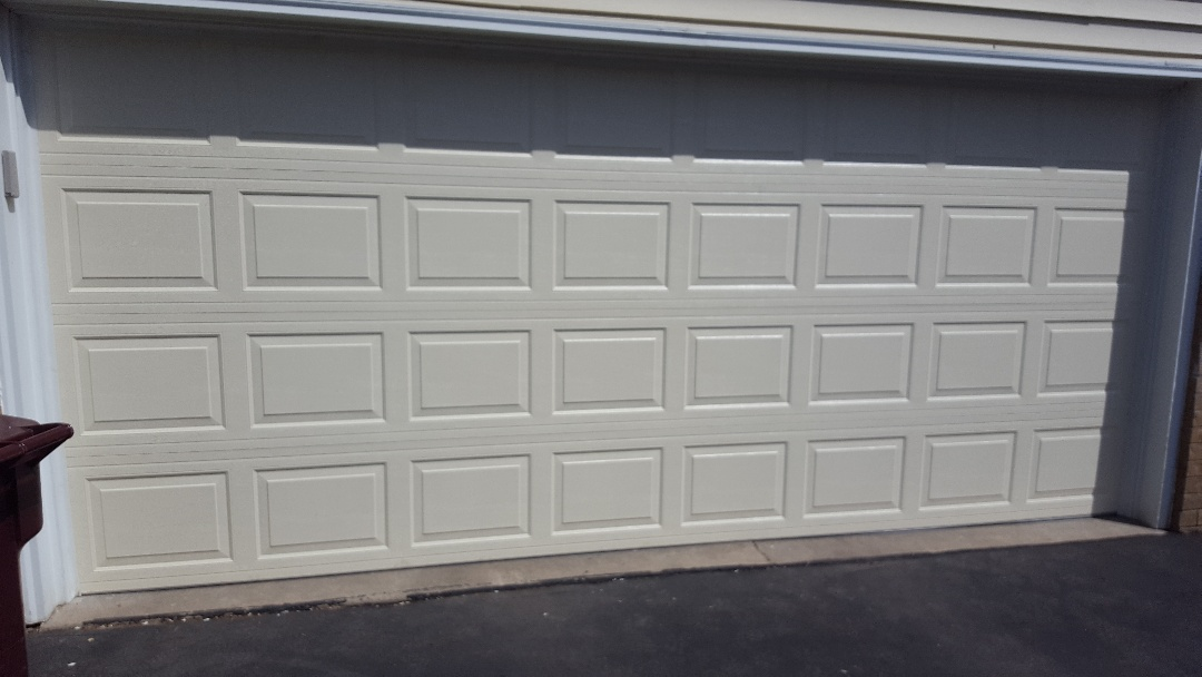 Burnsville, MN - Jeremy installed new garage door and opener