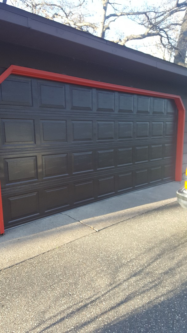 Forest Lake, MN - Rory installed a garage door and motor in Forest Lake,  MN.