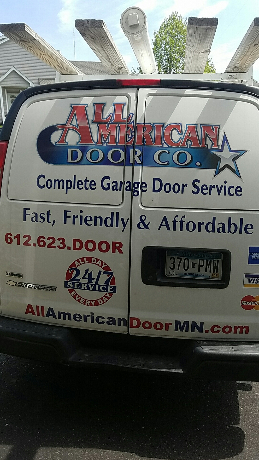 Shoreview, MN - Replaced garage door opener with a new liftmaster