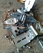 Mendota Heights, MN - Garage door service replace bent and cracked hinges.
