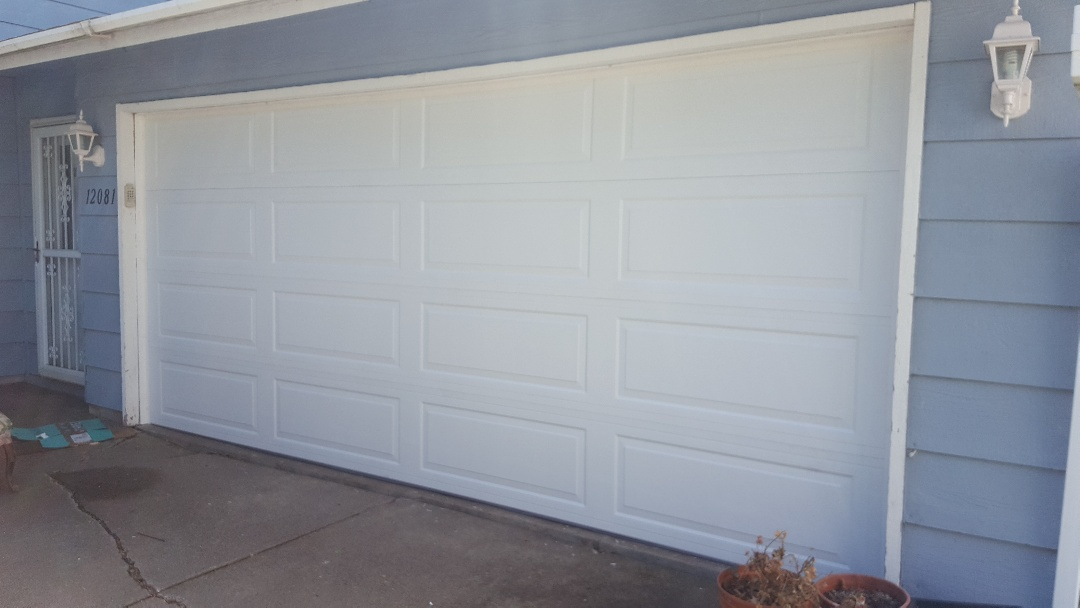Maple Grove, MN - Jeremy installed new garage door