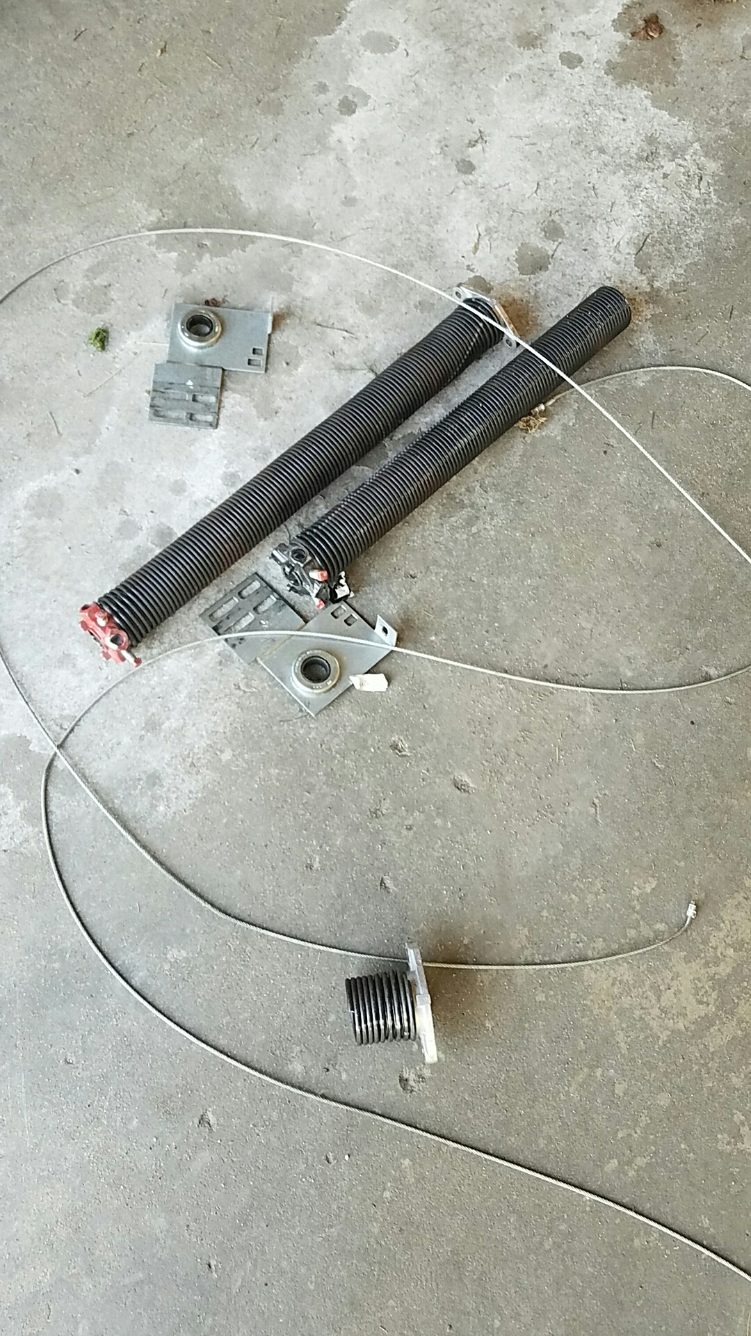 Rogers, MN - Replaced garage door Springs and end bearings and cables