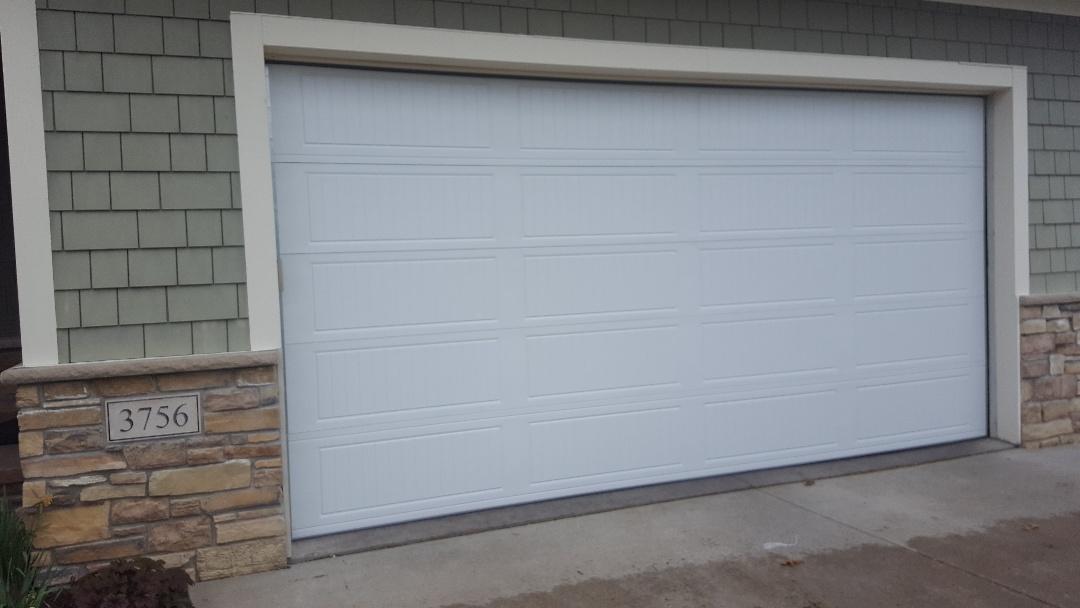 Lake Elmo, MN - Jeremy installed new garage doors
