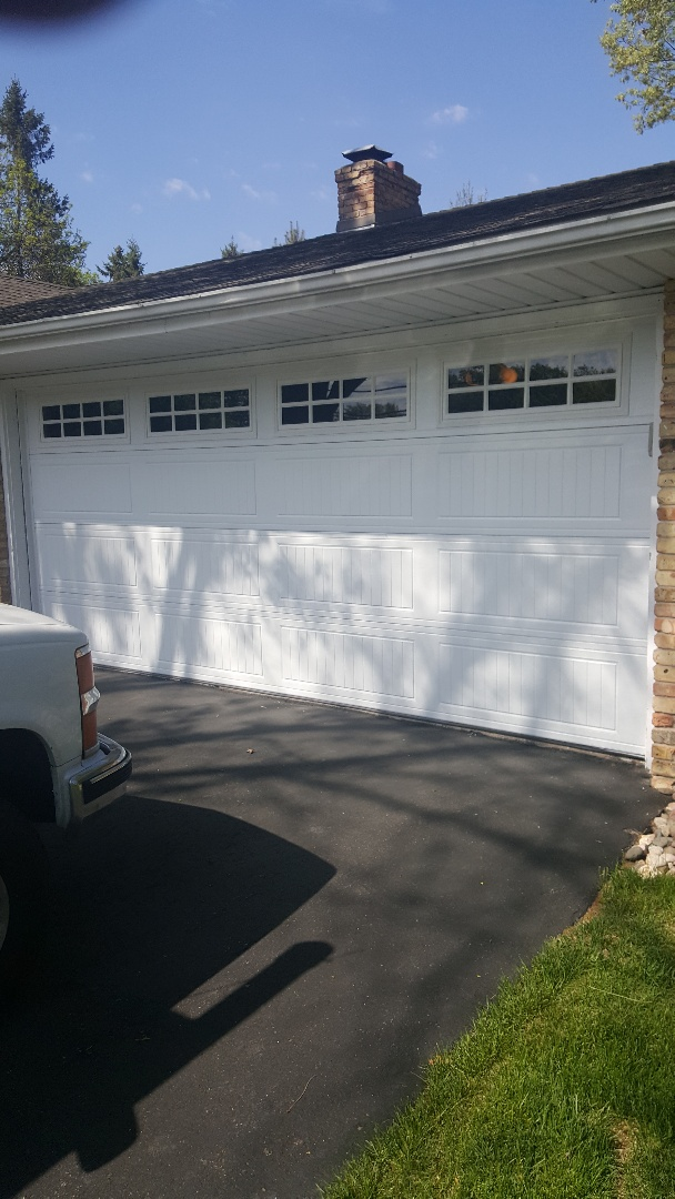 Minnetonka, MN - Rory installed a garage door in Corcle Pines MN.