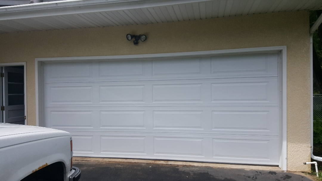 Shoreview, MN - Rory installed a garage door in Shoreview, MN