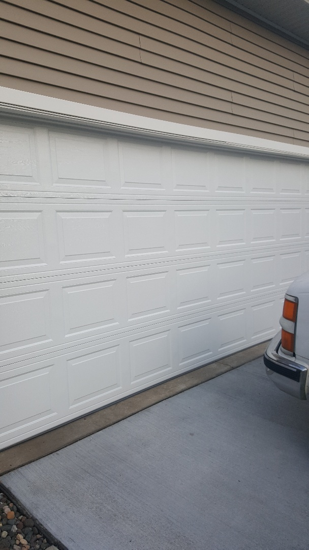 Inver Grove Heights, MN - Rory installed a garage door in Inver Grove Heights, MN