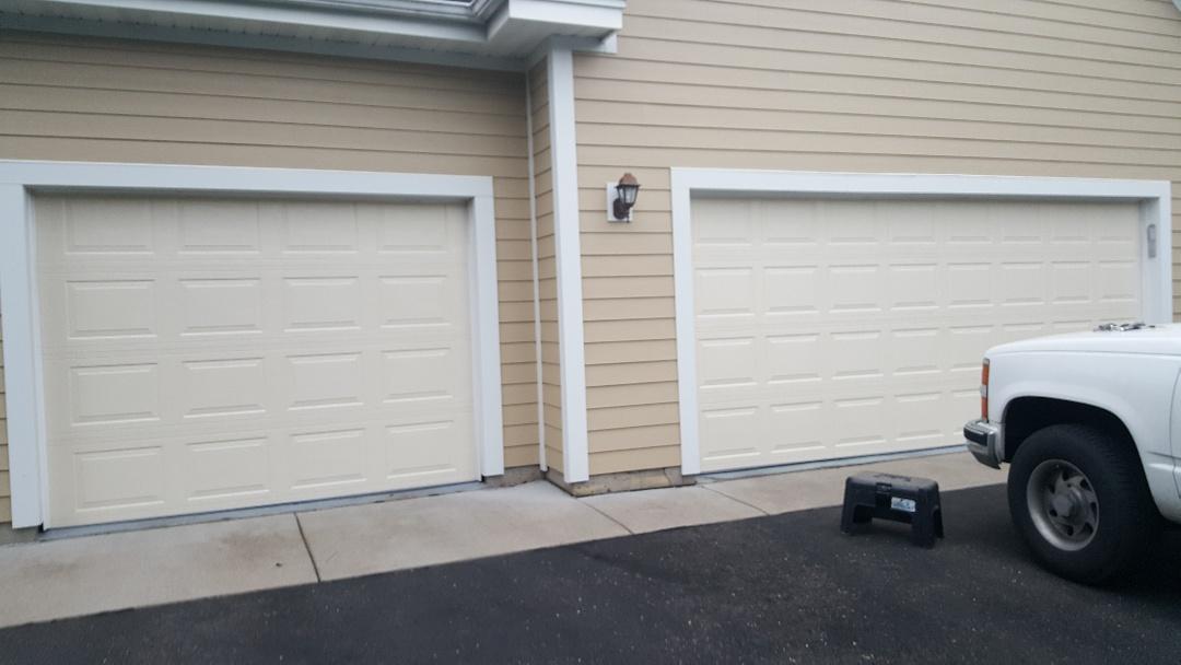 Woodbury, MN - Rory installed 2 garage doors and 2 openers in Woodbury, MN.