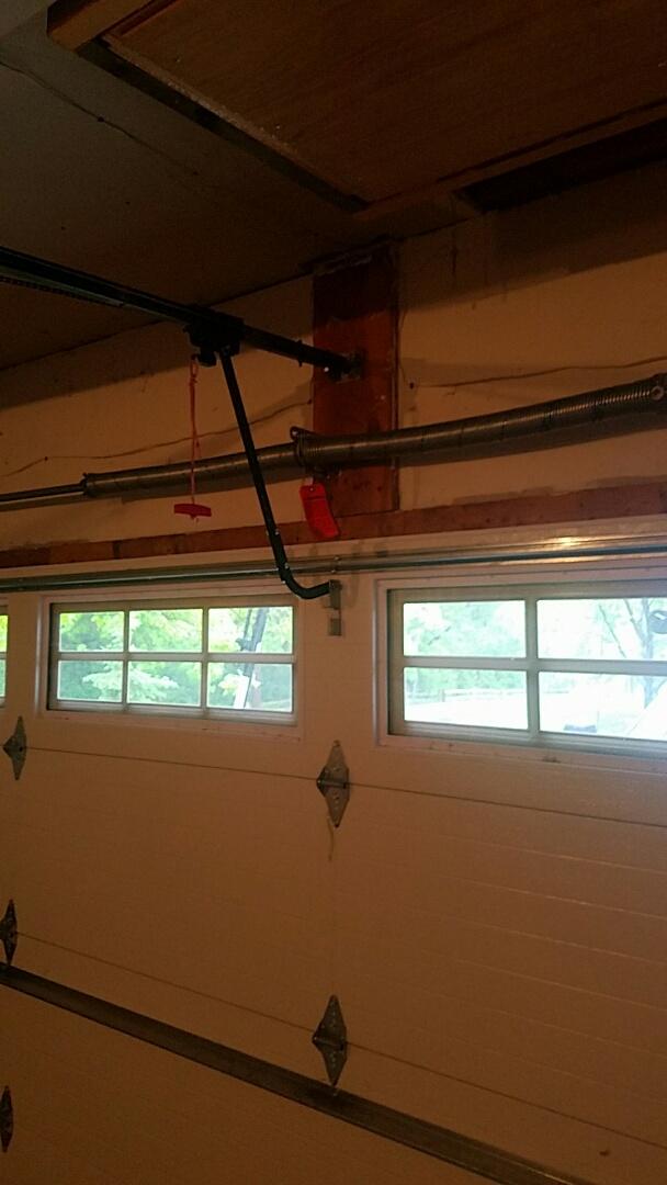 Shoreview, MN - Garage Door Service garage door repair broken spring replacement Shoreview Minnesota