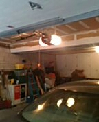 Wayzata, MN - Garage door service repair door opener rail and chain