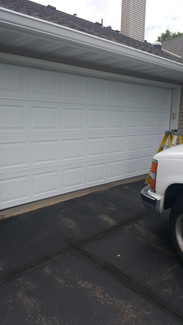 Brooklyn Park, MN - Rory installed a garage door in Brooklyn Park, mn