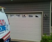 Farmington, MN - Garage door service replace torsion springs and end bearings