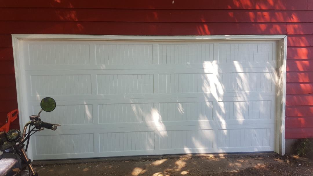 Arden Hills, MN - Jeremy installed new garage door