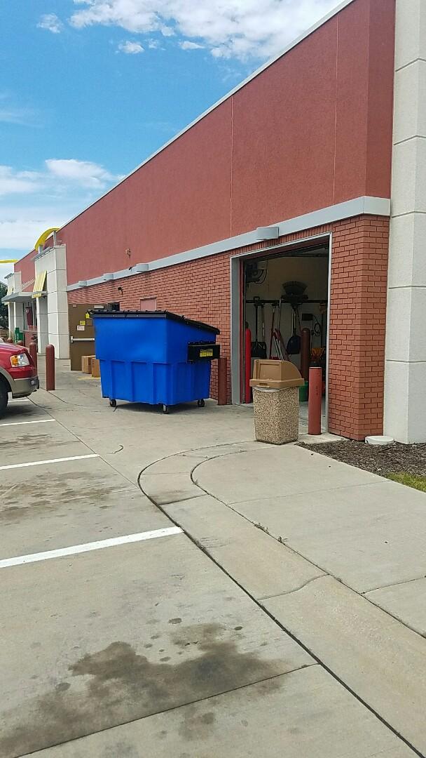 Blaine, MN - Commercial Garage Door Service garage door repair McDonald's Blaine Minnesota 55449
