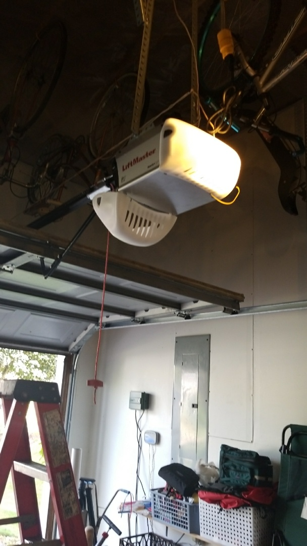 Apple Valley, MN - Garage door service replaced garage door opener