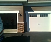 Lakeville, MN - Garage door service install operator to the third stall