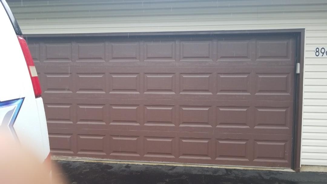 Eden Prairie, MN - Garage door service replaced rollers also did tune up