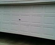 Burnsville, MN - Garage door service repair safety sensors and lubricate door