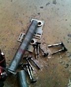 Saint Paul, MN - Garage door service replace torsion springs, end bearings and rollers