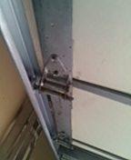 Garage door service replace bottom seal and rollers and tune up door