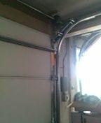 Garage door service repair opener and double roller top hinge