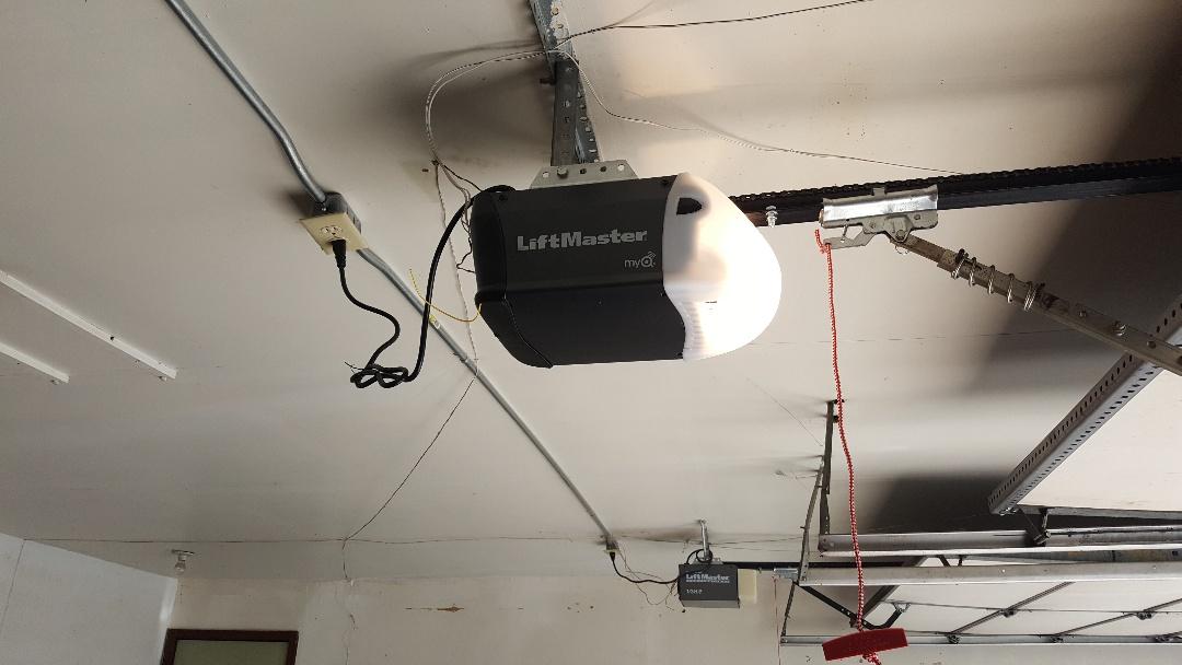 Saint Anthony, MN - Jeremy installed new garage opener