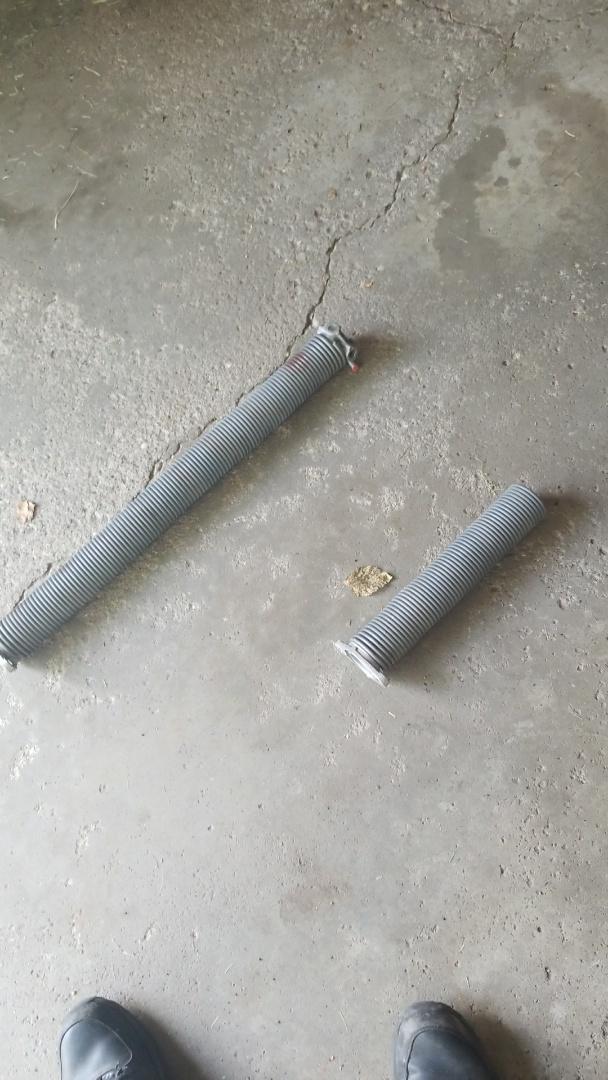 Eagan, MN - garage door service replaced springs