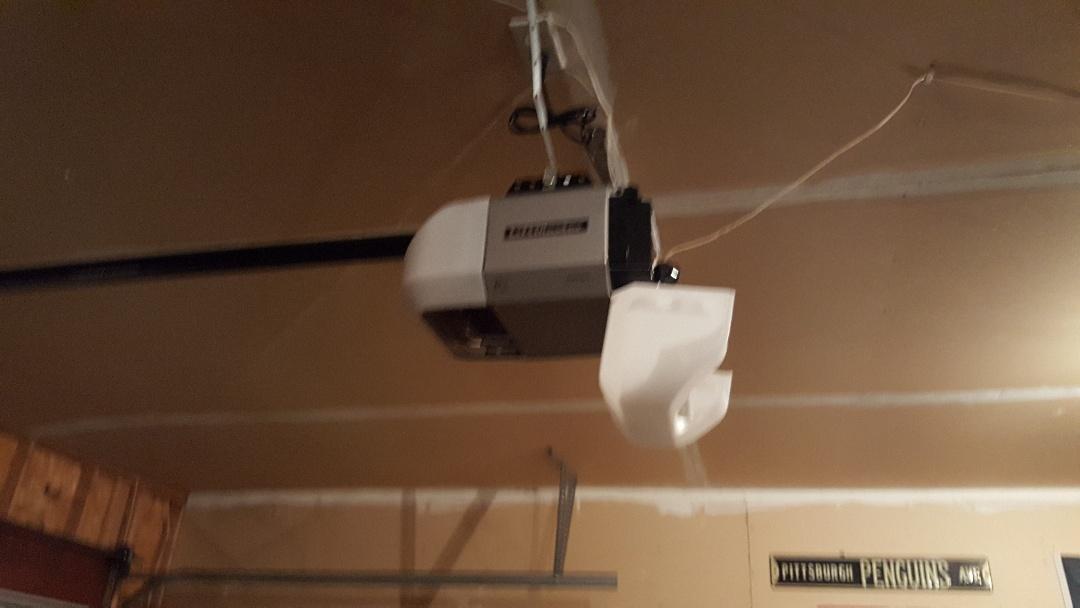 Jeremy installed new LiftMaster garage door opener 8355 w