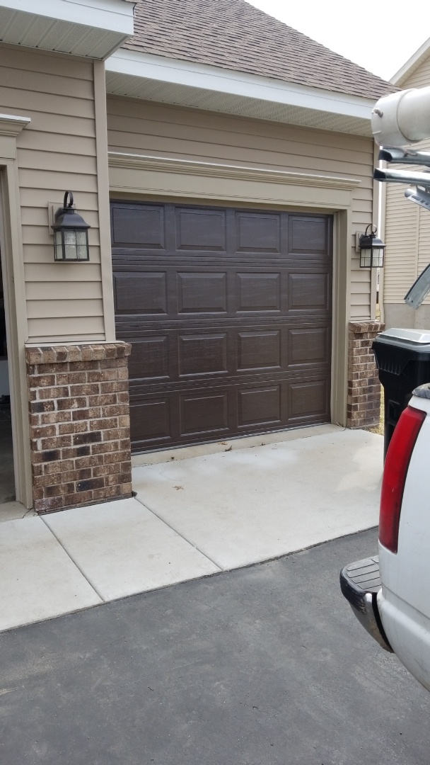 Rory installed a garage door in Otsego,  MN.
