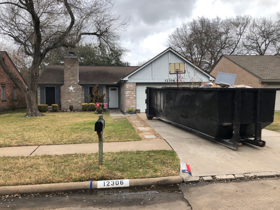 Houston, TX - Just finishing up removal of sheet rock and insulation after per pipe burst. In the Houston area After the huge winter storm that caused so much havoc to our state