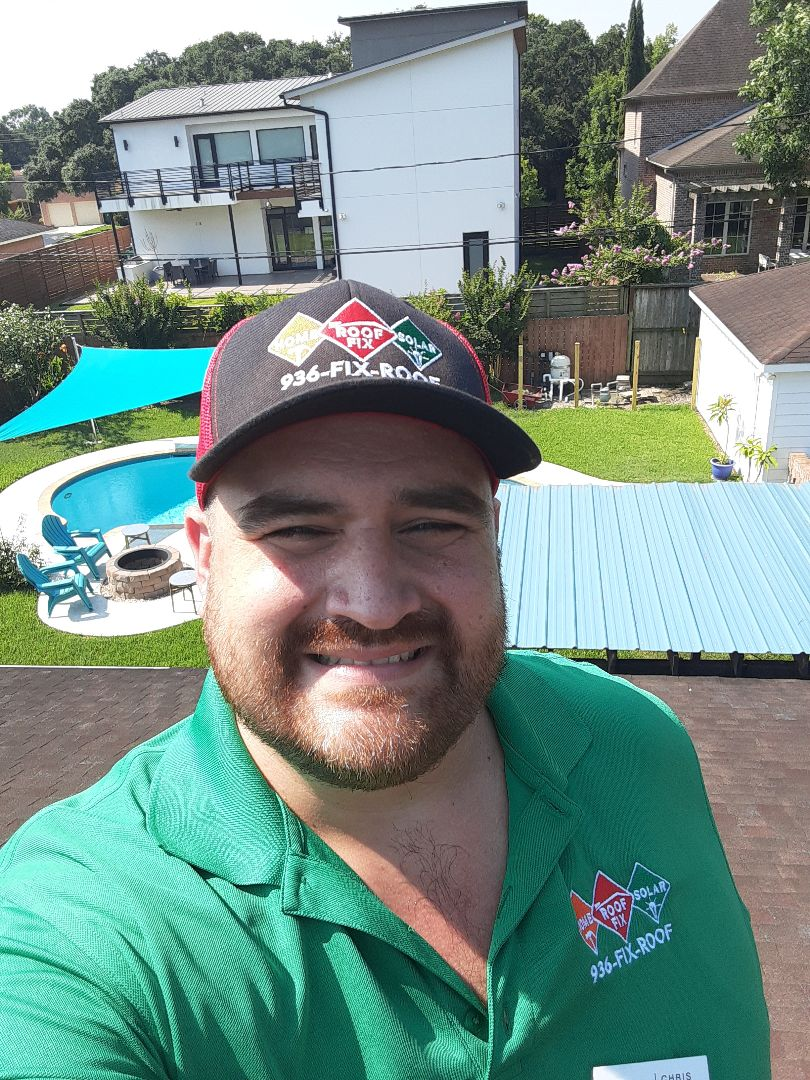 Houston, TX - Roof Fix is talking new roofs and solar energy in Meyerland!!!