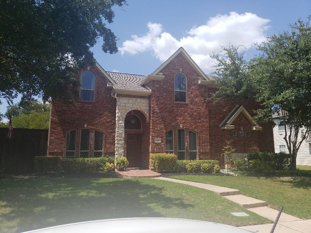 The Colony, TX - Estimate. Provided a free estimate to install palisade zoysia sod to the front and side yard