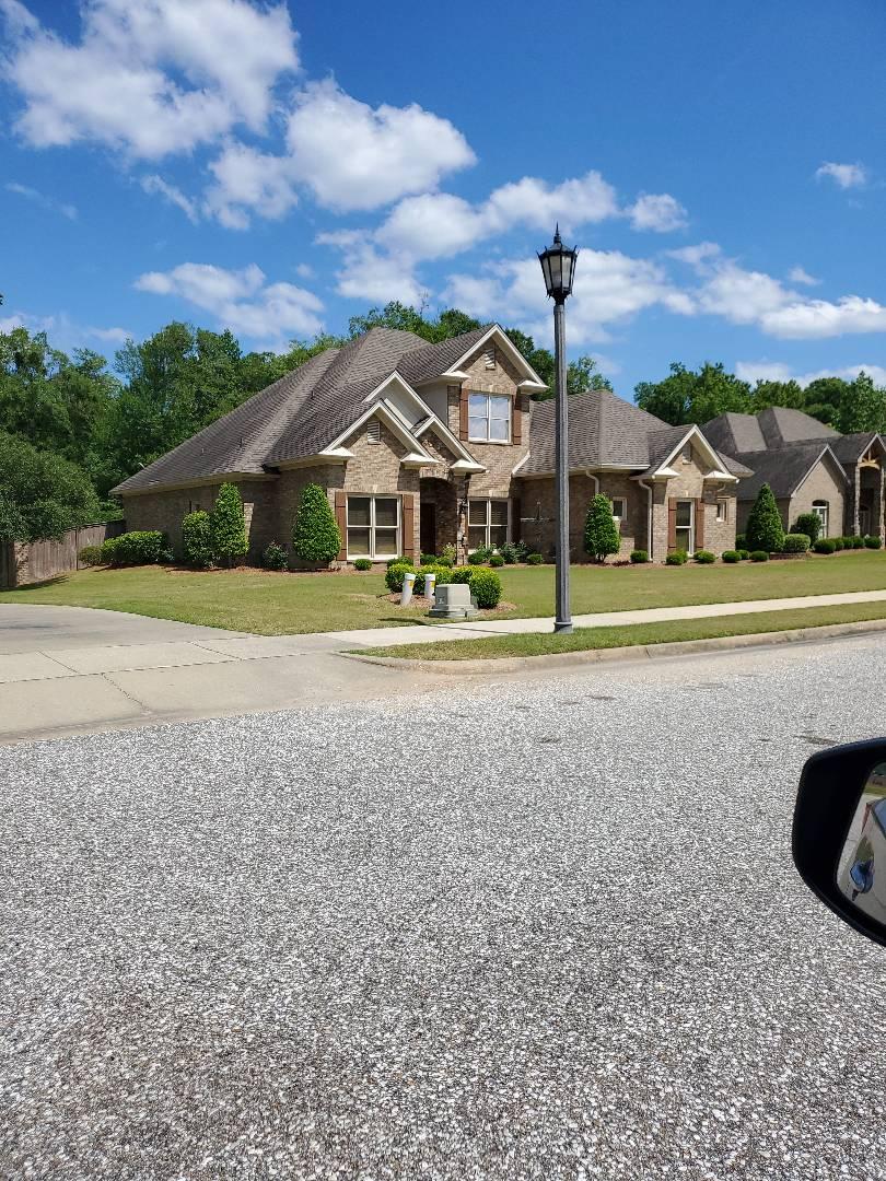 Montgomery, AL - Residential roof cleaning bid