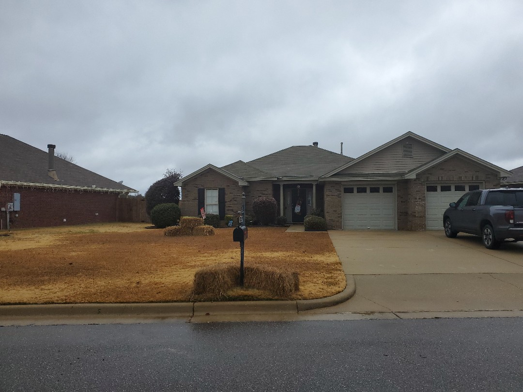 Prattville, AL - Pressure washing brick house, pressure washing driveway