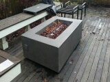 Seattle, WA - installing outdoor gas fire place