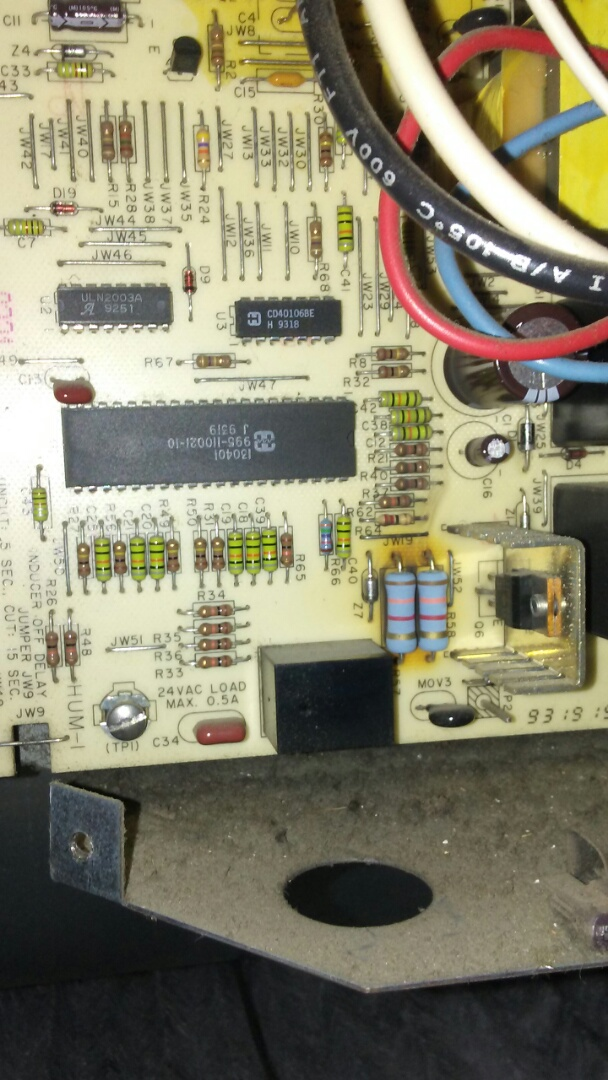 Shoreline, WA - Furnace repair no heat. Replaced control board and Transformer. Ahhh heat again!