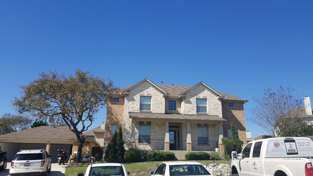 San Antonio, TX - Adjuster meeting approved for hail damage.