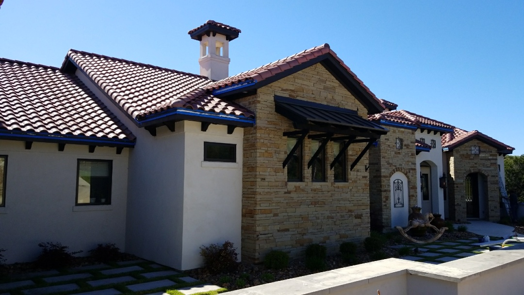 San Antonio, TX - This is why it is important to purchase pre-painted drip edge.