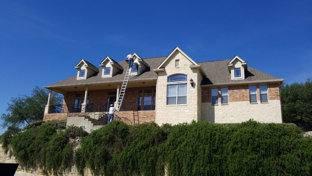 Boerne, TX - Fascia and roof repairs